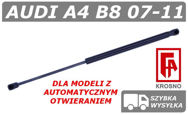 Audi A4 B8 Siłownik Klapy Bagażnika Z Automatycznym Otwieraniem